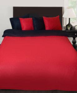 dvulicev-luksozen-spalen-komplekt-black-red
