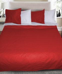 dvulicev-luksozen-spalen-komplekt-red